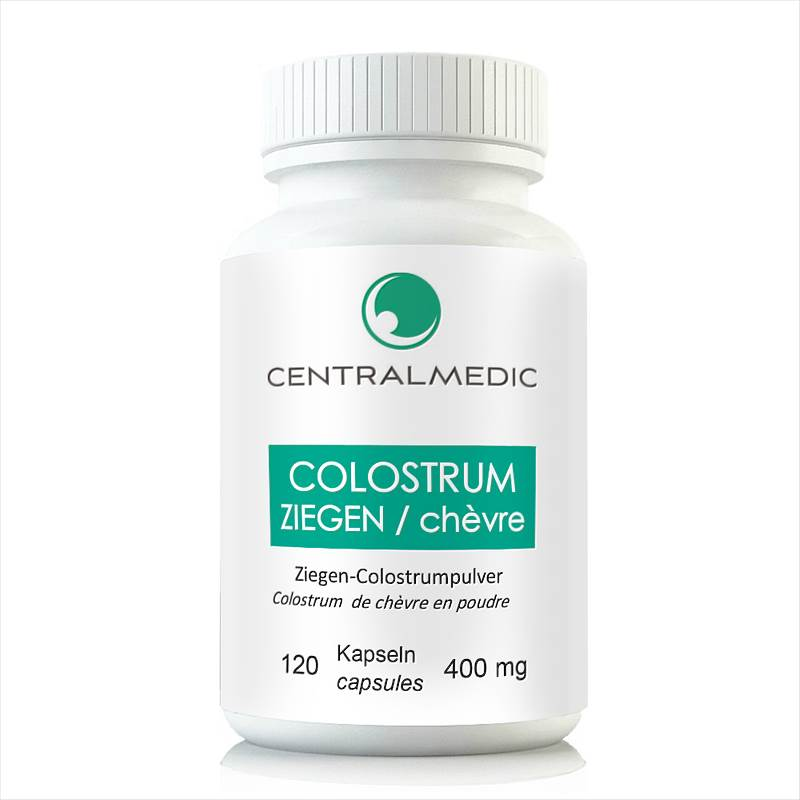 Colostrum de chèvre, 120 capsules à 500 mg
