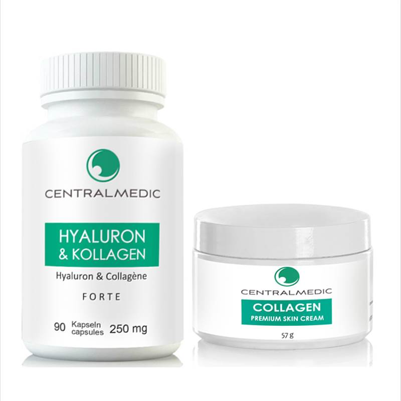 Hyoluron-Collagen Kapseln & Cream Set (HK250 & HK157)